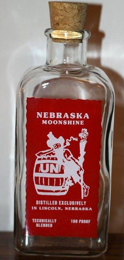 Breweriana - Other Liquor Bottle Commemorating the Huskers